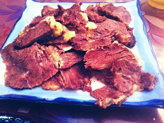 Rong Ba XiongDi: 手抓牦牛肉