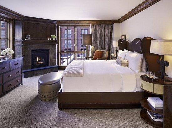 The St. Regis Aspen Resort: Bedroom, Residence Club [Furnishing may vary]
