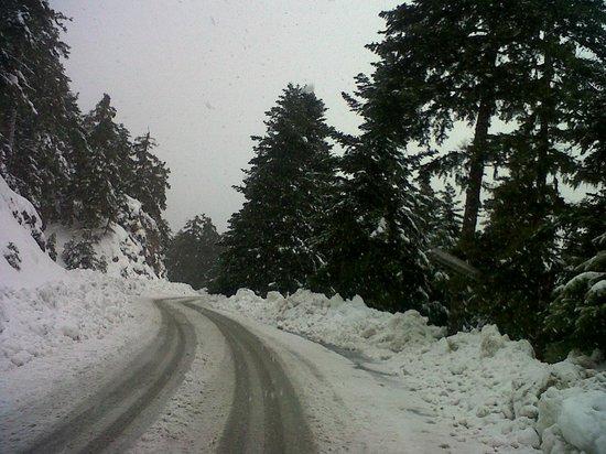 O Tholos: A lot of snow!