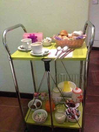 La Cupola del Vaticano: Breakfast tray