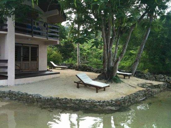 Fatumaru Lodge : Plage privée