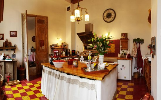 Domaine saint Dominique : La cuisine