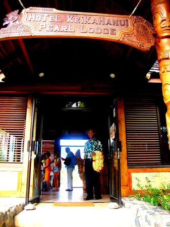 Keikahanui Nuku Hiva Pearl Lodge : L'accueil de Manou