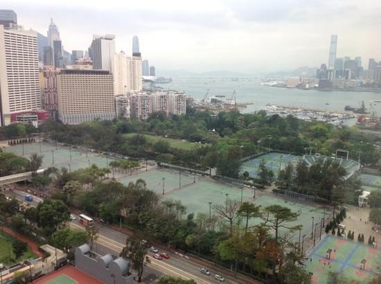 Metropark Hotel Causeway Bay Hong Kong: executive suite view