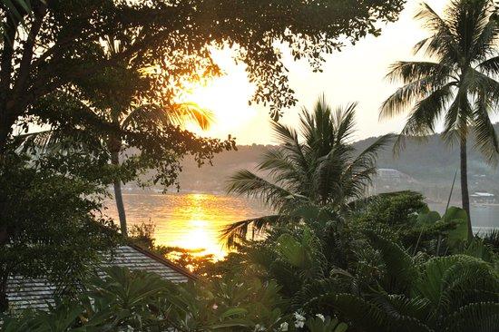 Punnpreeda Pool Villa Beachfront: sunrise from villa 801