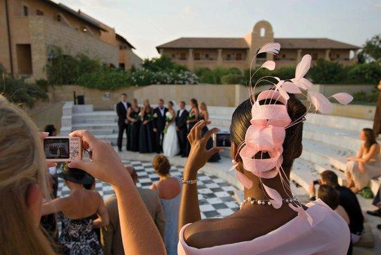 Elysium Hotel: Weddings at the Elysium, ceremony at the Amphitheatre