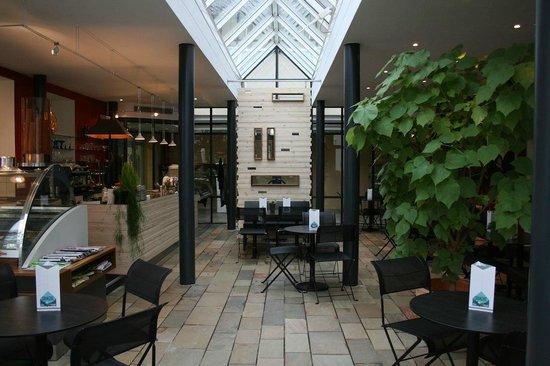 Eiscafé Orangerie: Das Café