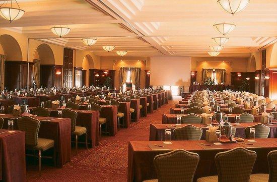 Elysium Hotel: Basilica Ballroom, conference setup