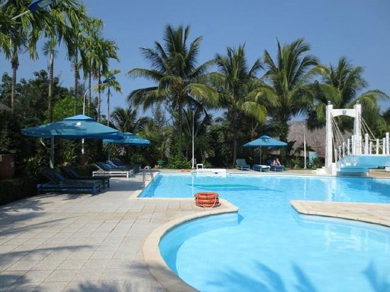 Sasco Blue Lagoon Resort: Pool area