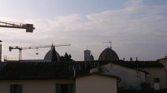 Hostel Archi Rossi: vista terrazza faenza