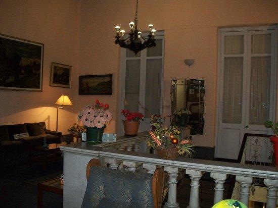 Hotel Casablanca: Area común, recepción