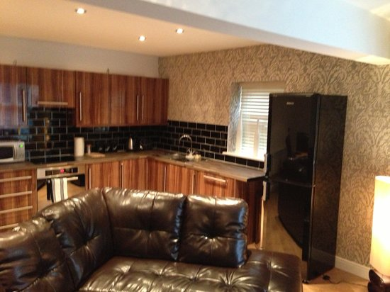 Yarm Apartments: Flat 2 lounge