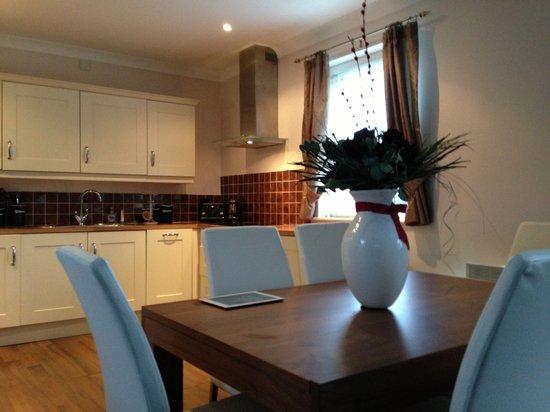 Yarm Apartments: Flat 3 kitchen / diner