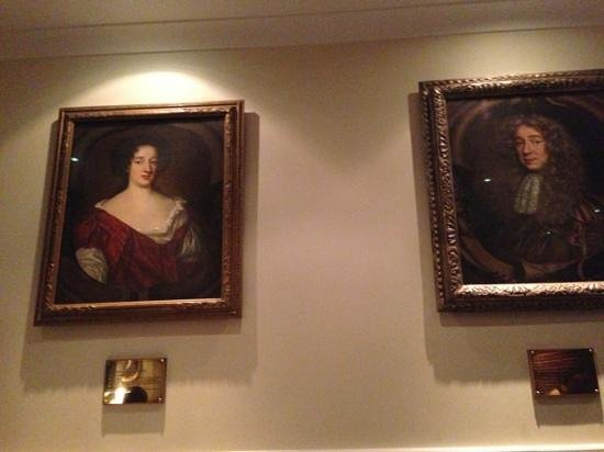 West Lodge Park Hotel: artworks with history. Mary Beale herself!!