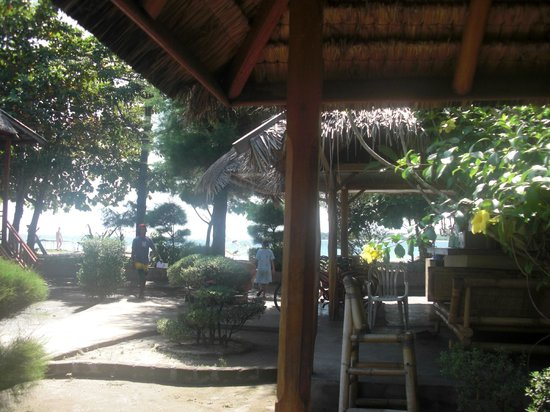 Balenta Bungalows: Inside the Gazebo