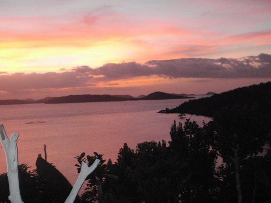 AL FARO Cosmio Hotel Palawan: View: Sunset