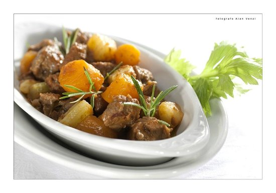 Osteria La Campanara : Spezzatino di bovina romagnola ( presidio slow food)