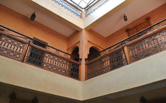Riad Dar Othmane: The hall