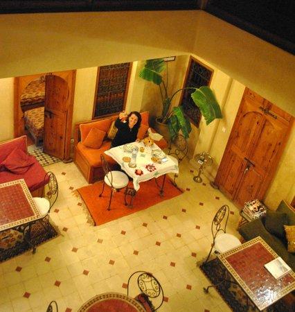 Riad Dar Othmane: Private dinner