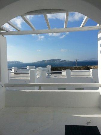 Rocabella Mykonos Art Hotel & SPA: Gorgeous view!