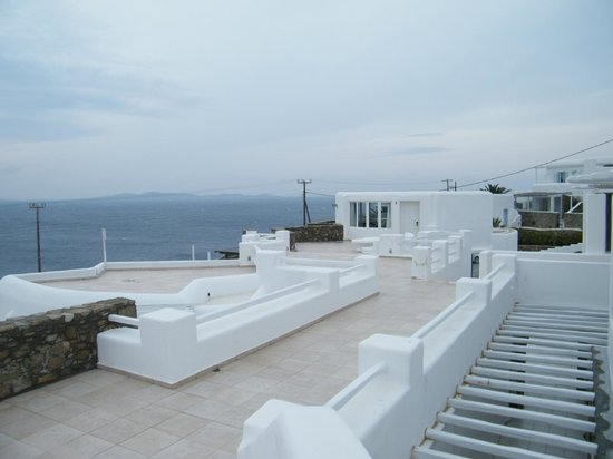 Rocabella Mykonos Art Hotel & SPA: View from the hotel