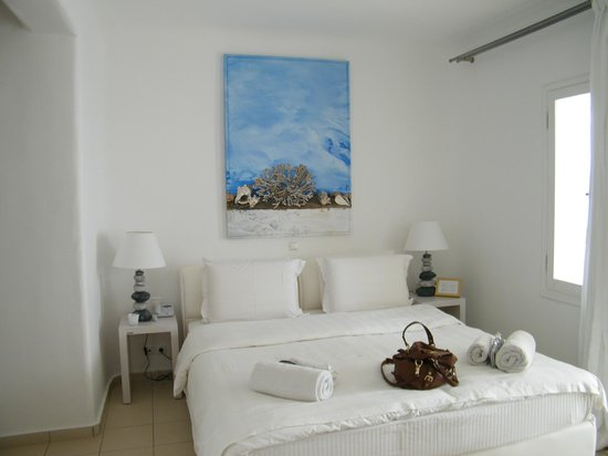 Rocabella Mykonos Art Hotel & SPA: A fabulous room!
