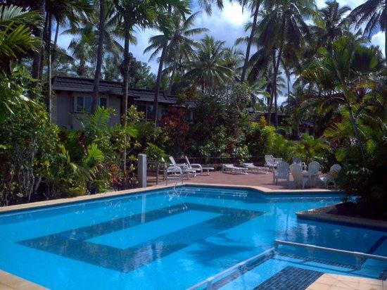 ULTIQA at Fiji Palms Beach Resort: Looking towards the units