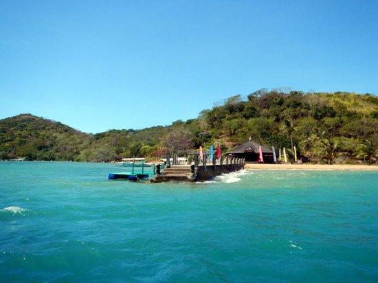Balinsasayaw Resort: Pier