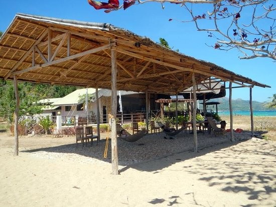 Balinsasayaw Resort: On the beach