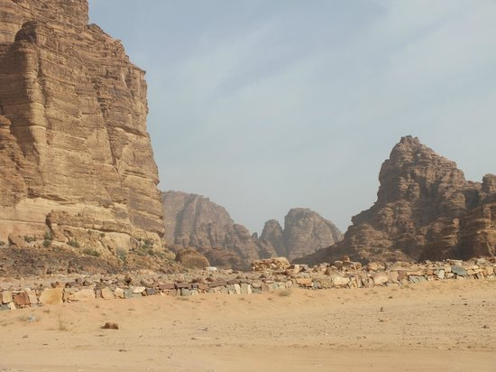 Wadi Rum Full Moon Camp : Every where you look