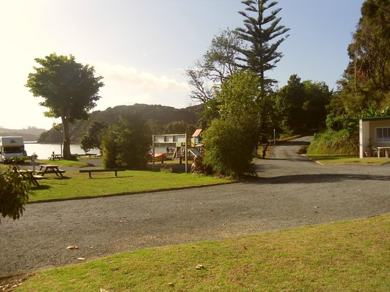 Paihia TOP 10: View from Cabin