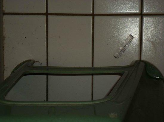 Bicycle Hotel: Hygienische Zustände Dusche