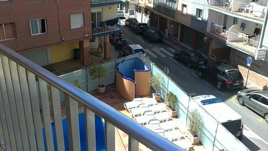 Hotel Brasil: terraza