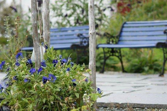 Haaheim Gaard: blå hage