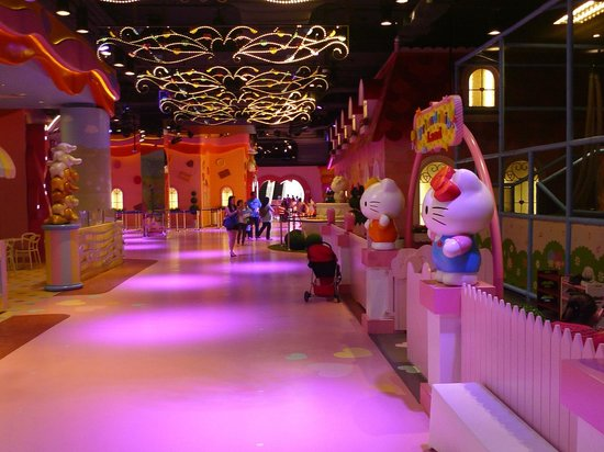 Sanrio Hello Kitty Town : The Place is compact and manageable