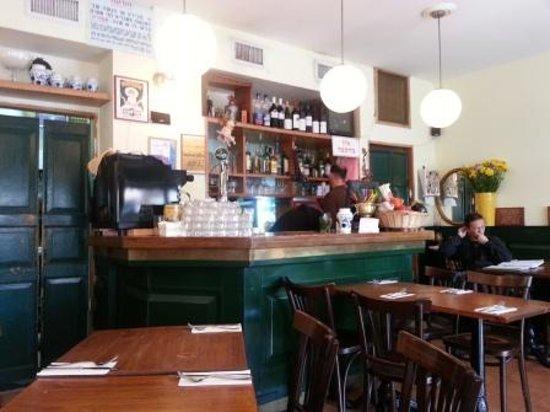 Topoleone Trattoria: The Restaurant
