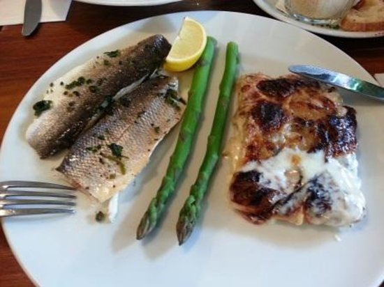 Topoleone Trattoria: Fish Dish