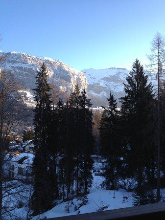 Sunstar Alpine Hotel Flims: Aussicht aus dem gebuchten Zimmer