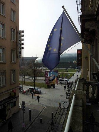 Ibis Styles Strasbourg Centre Gare: Blick von Zimmer Richtung Bahnhof