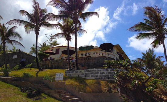 Round House on the hill on windward
