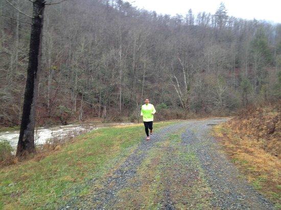 RiverDance: Running along the river
