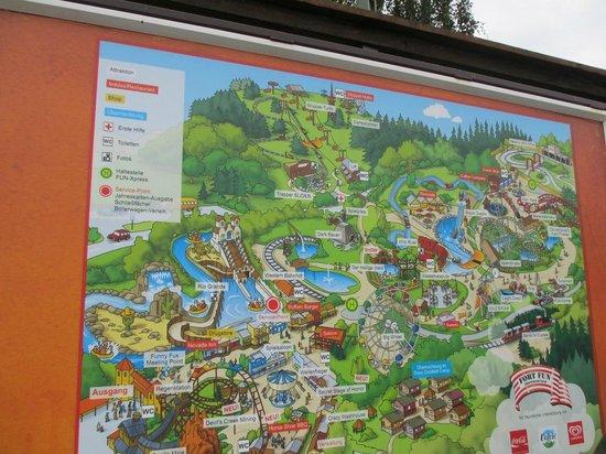 FORT FUN Abenteuerland: Plan