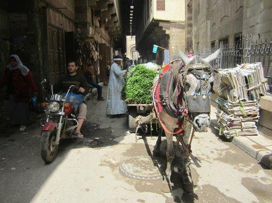 Sharia Al Mu'izz Li-Din Allah : Sharia Muizz - competing modes of transport