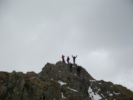 Helm Crag: The top of the Lion & Lamb