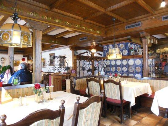 Hotel Restaurant Pfaff: très belle salle de restauration