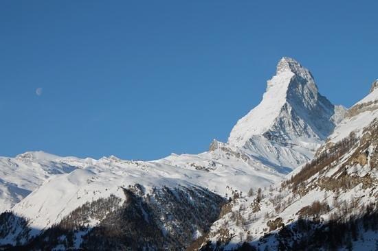 Alpenlodge: Blick aus unserem Zimmer