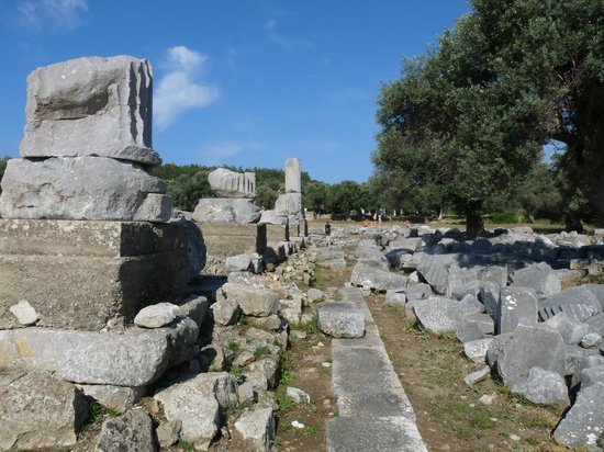 Seferihisar, Turchia: Visit to ruins from Neilsons Teos