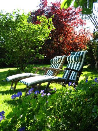 Landhaus Meinsbur: Garten zum Entspannen