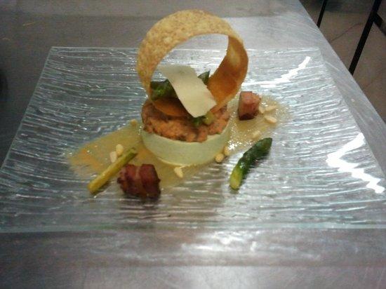 Nature Gourmande : Bavarois d'asperges