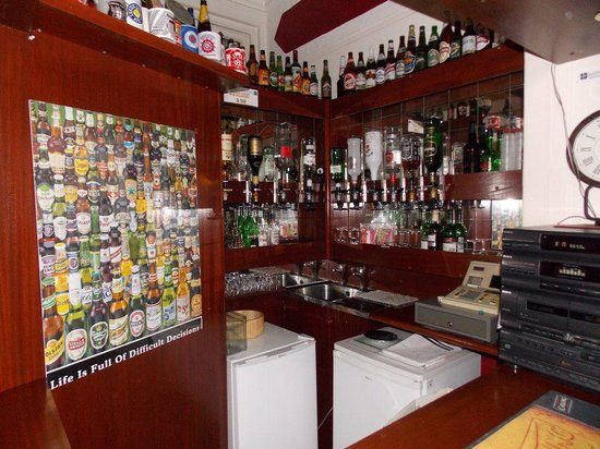 The Hornby Villa: bar :)